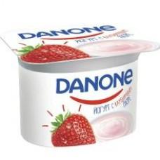 Йогурт данон молочн..1.5%  110г