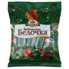 Конфеты бабаевская белочка 250г