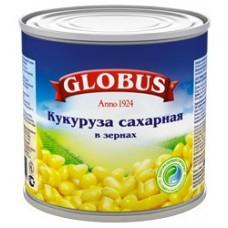 Кукуруза сладкая глобус  425г ж/б
