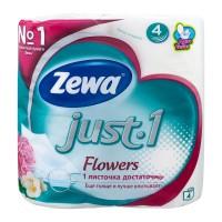 Туалетная бумага Зева Джаст 4рул