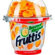 Йогурт кампина   фруттис  0.1% 165г с хлопьями
