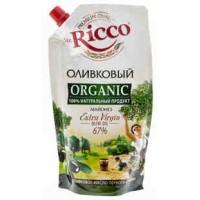 Майонез мистер рикко органик оливковый  55% 800мл