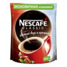 Кофе Нескафе классик 500г