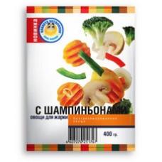 Овощи для жарки с шампиньонами планета витаминов 400г