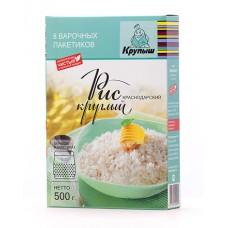 500г рис круглозёрный крупыш