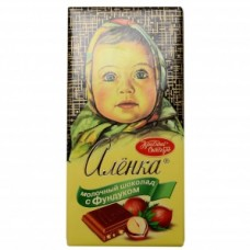 Шоколад аленка молоч.с фундуком  100г