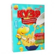 Хлопья кукурузные кузя лакомкин 250.гр кк