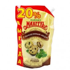 Майонез Махеев с перепелиным яйцом 67%, 770г