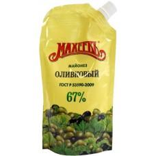 Майонез Махеев оливковый 67%, 190г