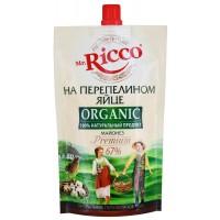 Майонез Мистер Рикко Органик  с перепелиным яйцом 67% 400г