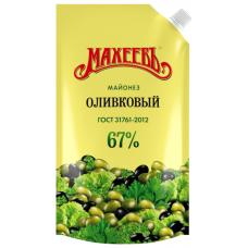 Майонез Махеев оливковый 67%, 380г