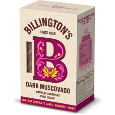 Сахар нерафинированный Billington's Dark Muscovado, 500г