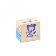 Молоко тема ультрапастеризованное, детское, 3,2% 500 г
