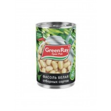 425мл фасоль бел нат greenray