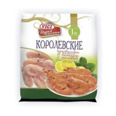 1кг креветки в панц 30/40 vici
