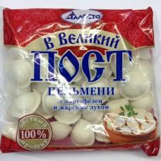 450г пельм картоф жарен луком