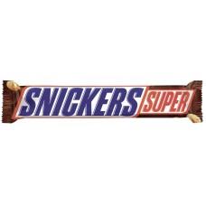Шоколадный батончик snickers super, 95г