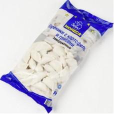 Вареники horeca select c картофелем и грибами, 2кг