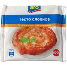 Тесто слоеное Aro бездрожжевое, 500г