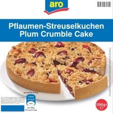 1,25кг сливовый пирог aro