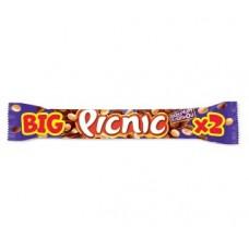 Шоколадный батончик picnic big с арахисом и карамелью, 76г