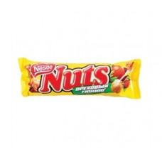Шоколадный батончик nestle nuts ореховый тюнинг, 50 г