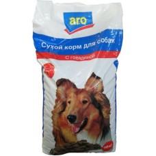Сухой корм для собак aro с говядиной, 20кг