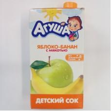 0,5л сок яблоко/банан агуша