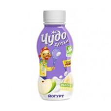 Йогурт питьевой чудо детки яблоко/банан 2,2%, 200г