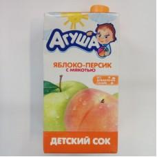 0,5л сок ябл/перс с мяк. агуша