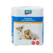 Пеленки для животных aro 60*60, 10 шт