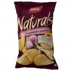 100г naturals чипсы чеснзелен