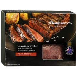 Стейк Нью Йорк из новозеландской премиальной говядины замороженный