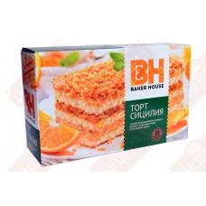 Торт бисквитный Беккер Хаус 350г ассортимент