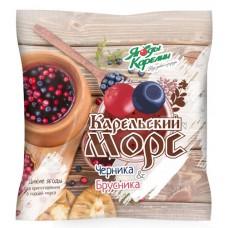 Смесь ягодная быстрозамороженная Карельский морс Ягоды Карелии, 300г