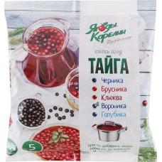 Смесь ягодная быстрозамороженная Тайга Ягоды Карелии, 300г